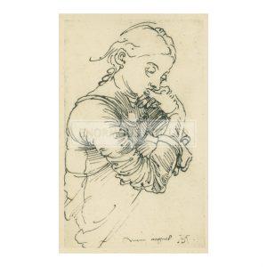 DUR009 Agnes Durer, 1495