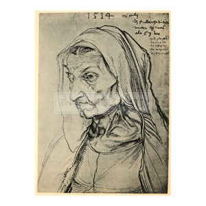 DUR013 Durer's Mother, 1514