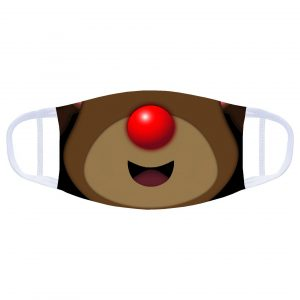 Face Covering: Rudolph the Rednosed Reindeer