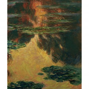 MON027 Waterlilies, 1907
