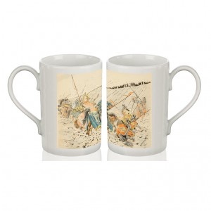Mug: The Battle of Agincourt, Illustration