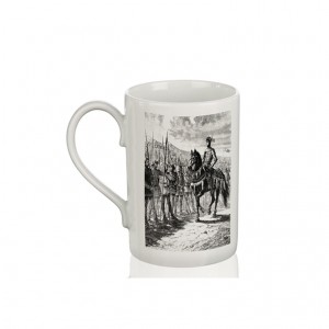 Mug: The Battle of Agincourt (Engraving)