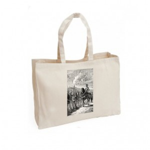 Canvas Bag: The Battle of Agincourt (Engraving)