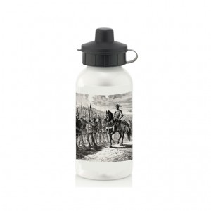 Water Bottle: The Battle of Agincourt (Engraving)