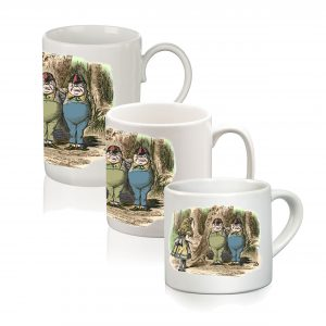 Mug: Alice Meets Tweedledee & Tweedledum