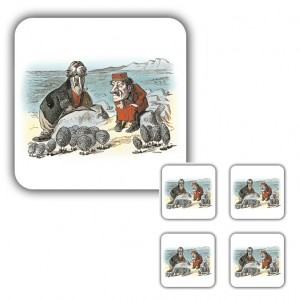 Coaster Set: The Walrus