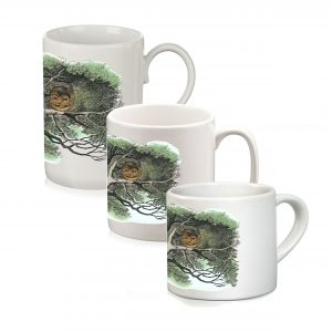 Mug: The Cheshire Cat in a Tree