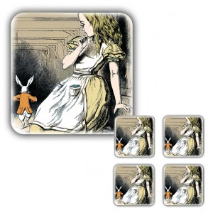 Coaster Set: Alice Grown Tall