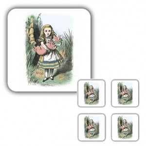 Coaster Set: Alice & the Pig Baby