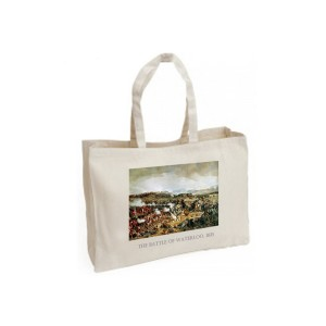 Canvas Bag: Napoleon's Final Defeat, Waterloo, 1874