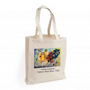 Canvas Bag: Yellow-Red-Blue, 1925