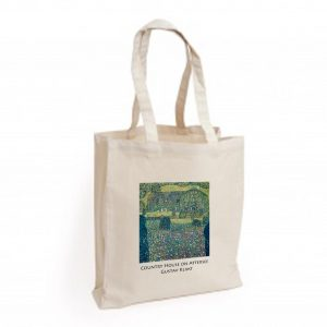 Canvas Bag: Country House on Attersee