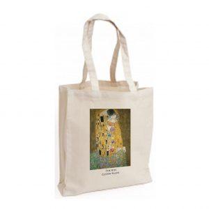 Canvas Bag: The Kiss