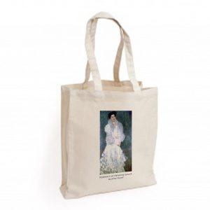Canvas Bag: Portrait of Hermine Gallia