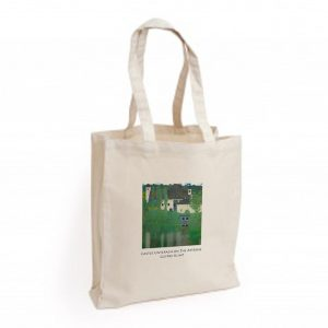 Canvas Bag: Castle Unterach on the Attersee