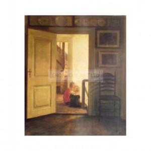 BW7074 Children in an Interior