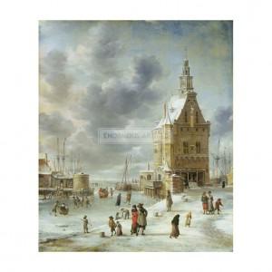 BEE001 The City Gate of Hoorn