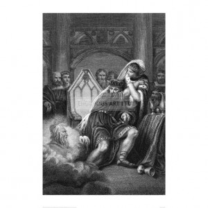 BOH286  Illustration from MacBeth, 1820