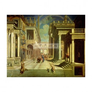BOR001 Emperor Augustus and the Sibyl