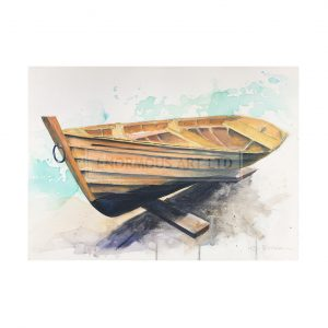 Bowman, Liz – Donna Clara Loch Boat (Original)