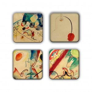 Coaster Set: Kandinsky Group 1