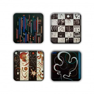 Coaster Set: Kandinsky Group 2
