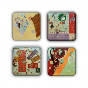 Coaster Set: Kandinsky Group 3
