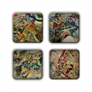 Coaster Set: Kandinsky Group 4