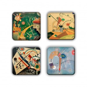 Coaster Set: Kandinsky Group 5