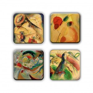 Coaster Set: Kandinsky Group 7
