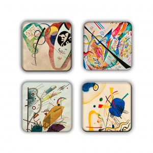 Coaster Set: Kandinsky Group 9
