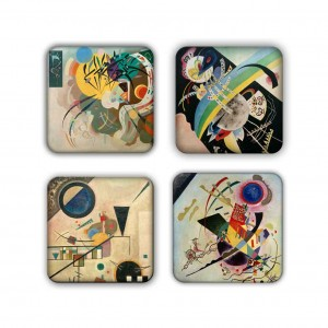 Coaster Set: Kandinsky Group 10