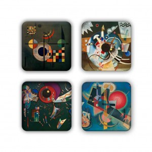 Coaster Set: Kandinsky Group 12