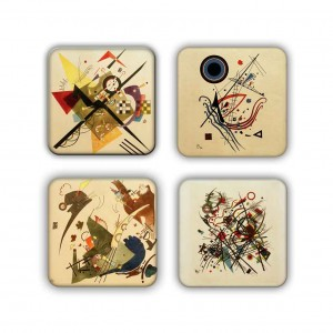 Coaster Set: Kandinsky Group 13