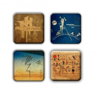Coaster Set: Kandinsky Group 14