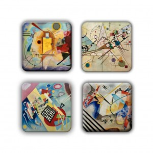 Coaster Set: Kandinsky Group 15