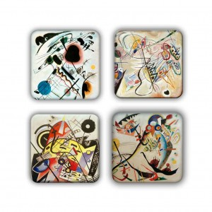 Coaster Set: Kandinsky Group 16