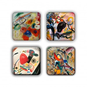 Coaster Set: Kandinsky Group 17