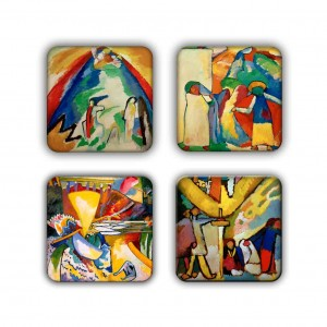 Coaster Set: Kandinsky Group 18