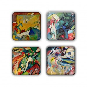 Coaster Set: Kandinsky Group 19