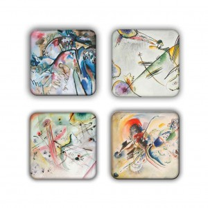 Coaster Set: Kandinsky Group 21