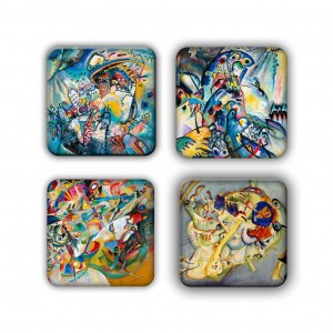 Coaster Set: Kandinsky Group 22