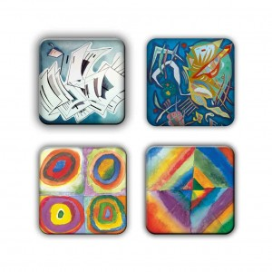 Coaster Set: Kandinsky Group 23