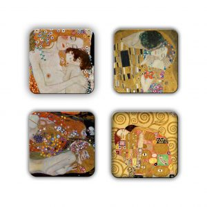 Coaster Set: Klimt Group 1
