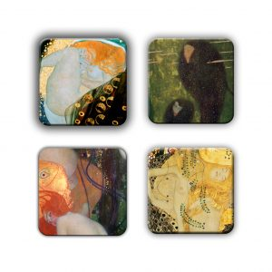 Coaster Set: Klimt Group 2