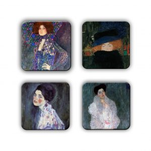 Coaster Set: Klimt Group 3