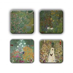 Coaster Set: Klimt Group 4