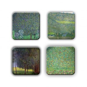 Coaster Set: Klimt Group 5