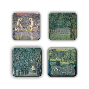 Coaster Set: Klimt Group 6