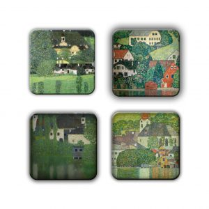Coaster Set: Klimt Group 7